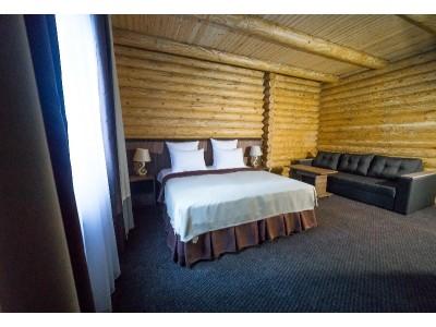 Отель Таурух | Домбай | Делюкс сруб 2-местный