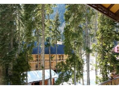 Отель Таурух | Домбай | внешний вид, территория