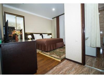 Отель Таурух | Домбай | Делюкс с балконом 2-местный