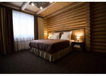 Делюкс 2-местный сруб | Отель Таурух Домбай